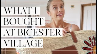 A SPONTANEOUS TRIP TO BICESTER VILLAGE + WHAT I BOUGHT! // Fashion Mumblr