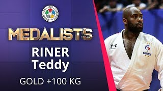RINER Teddy Gold medal Judo Brasilia Grand Slam 2019