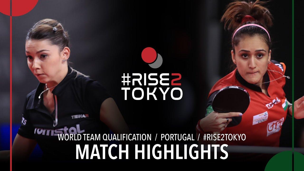 Download Bernadette Szocs vs Batra Manika | 2020 World Team Qualification (R16)