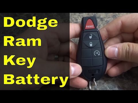 How To Replace Dodge Ram Key Fob Battery