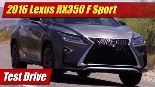 Lexus RX 350 F Sport 2016 Videos