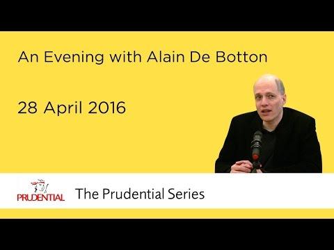 An Evening with Alain De Botton