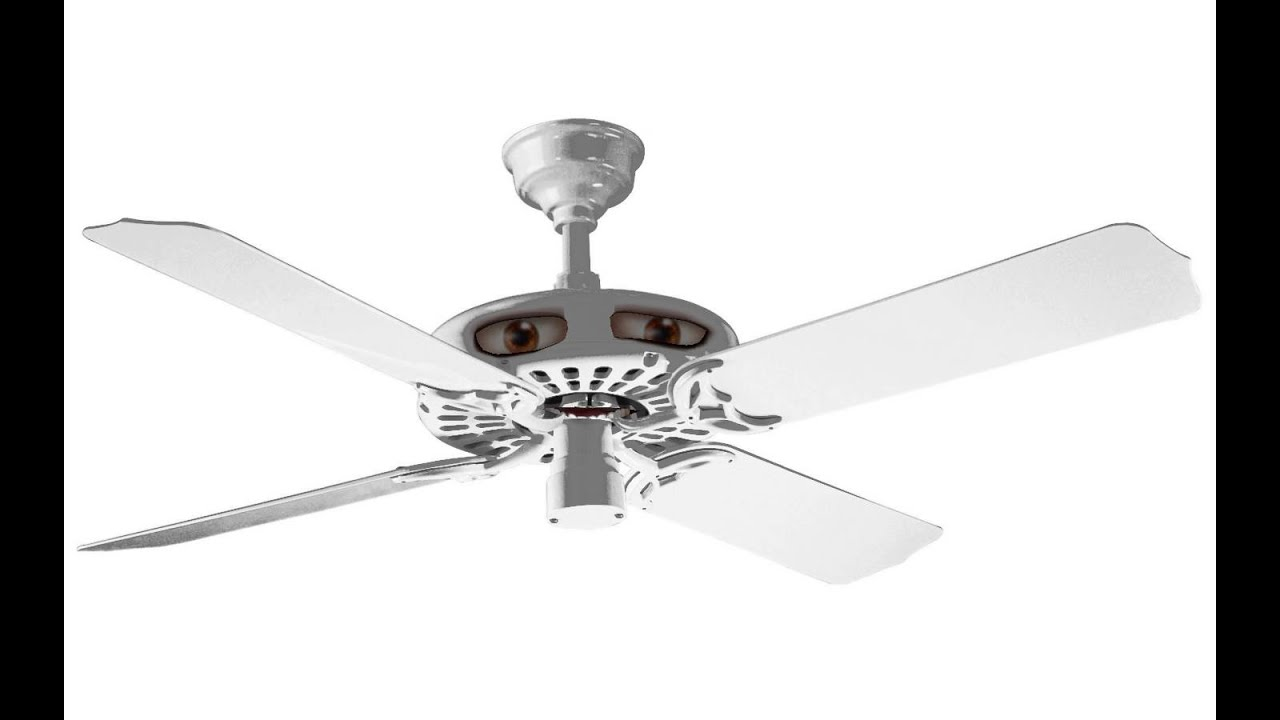 Talking Hunter Original ceiling fan - YouTube