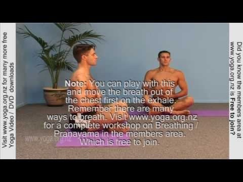 Yoga Breathing for Beginners - Simple