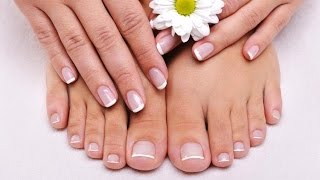 french manicure - french manicure at home