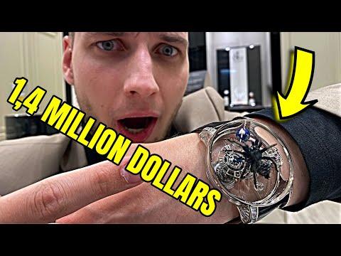 1,4 MILLION DOLLAR WATCH! Jacob And Co - Magician Dubai