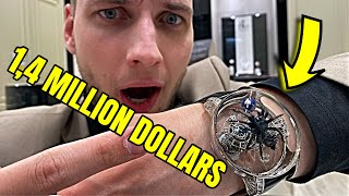 1,4 MILLION DOLLAR WATCH! Jacob and Co - Magician Dubai