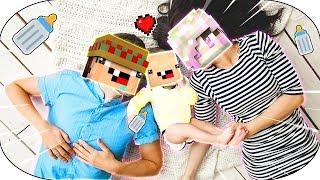 ¡mi Novia Y Yo Tenemos Un Hijo! 🍼💘 ¡amor En Minecraft! 💑