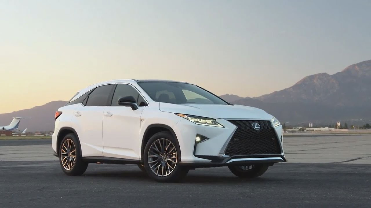 2016 Lexus RX350 F Sport Start Up In Depth Tour and Review