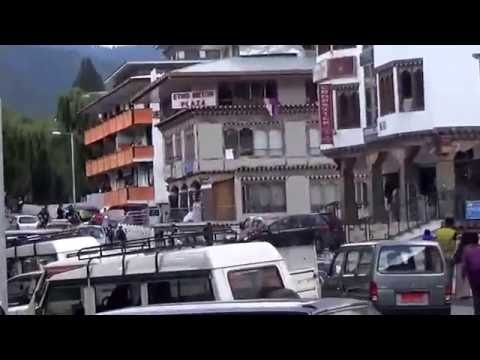 In the streets of Thimpu ,The majestic capital of Bhutan.