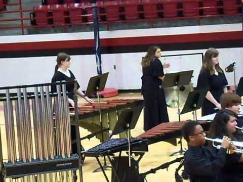 I Am - performed by Charlton County High School Band of Pride Spring 2011