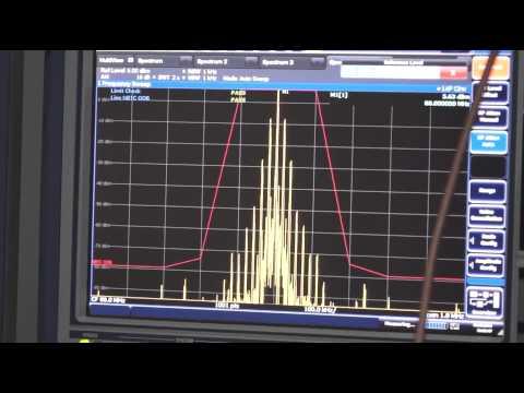 การวัดเครื่องส่งวิทยุ FM ตามมาตราฐาน กสทช