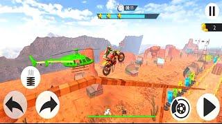 Bike Stunts 3D Racing Stunts Game Free Bike Games Gameplay Walkthrough Part 1 screenshot 5