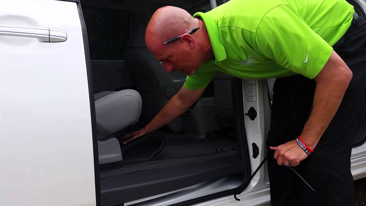 How To Find And Lower Spare Tire On Toyota Sienna With