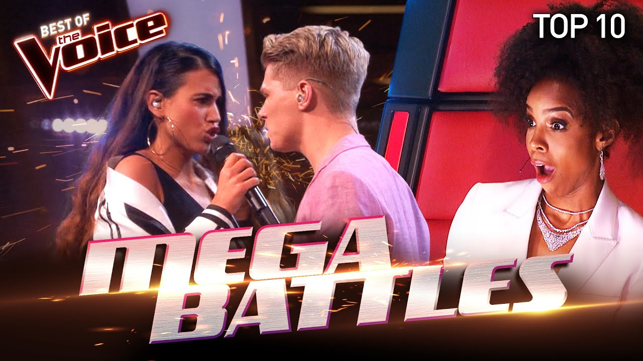 The BIGGEST BATTLES of The Voice | Top 10