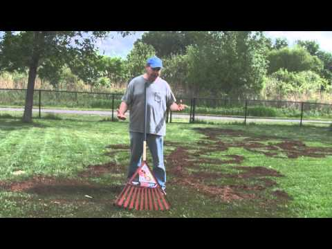 Spreading Peat Moss