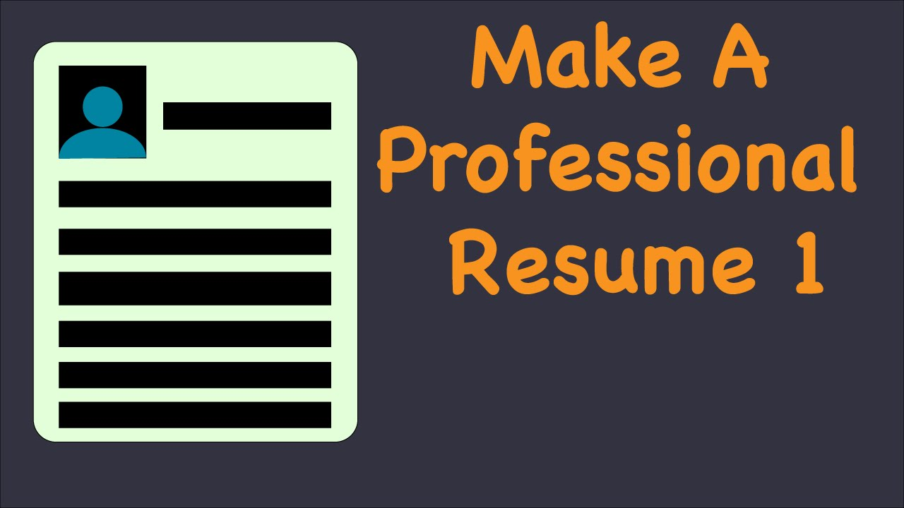 Professional Resume U0026 Cover Letter 1: Installing Latex   YouTube  Latex Resume Tutorial