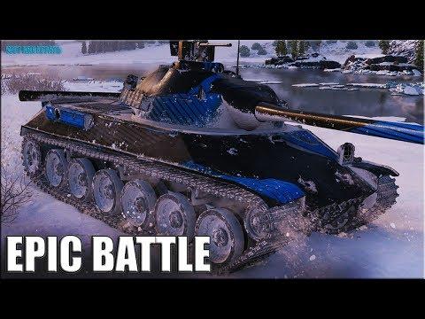 ВСЯ МОЩЬ БАРАБАНА и ВБР ✅ World of Tanks лучший бой TVP T50/51