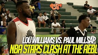 Lou Williams vs. Paul Millsap | NBA STARS CLASH at the AEBL