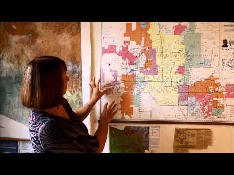 Phoenix, Arizona (AZ) Map Study