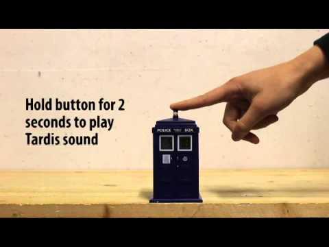 Tardis Projecting Alarm Clock Youtube