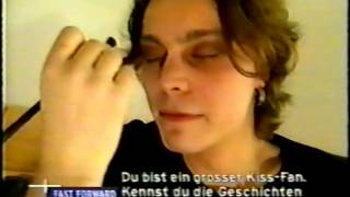 ville valo makeup interview with charlotte roche viva zwei fast forward 1999