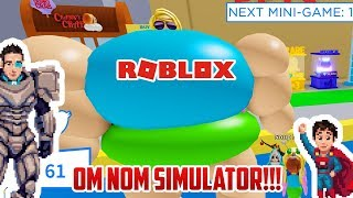 Roblox: THIS GAME IS MESSED UP | Roblox Om Nom Simulator