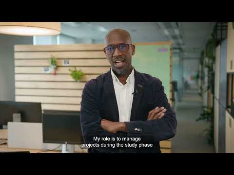 Oumar, project manager at the Direction of Projects and Engineering  (DPI)