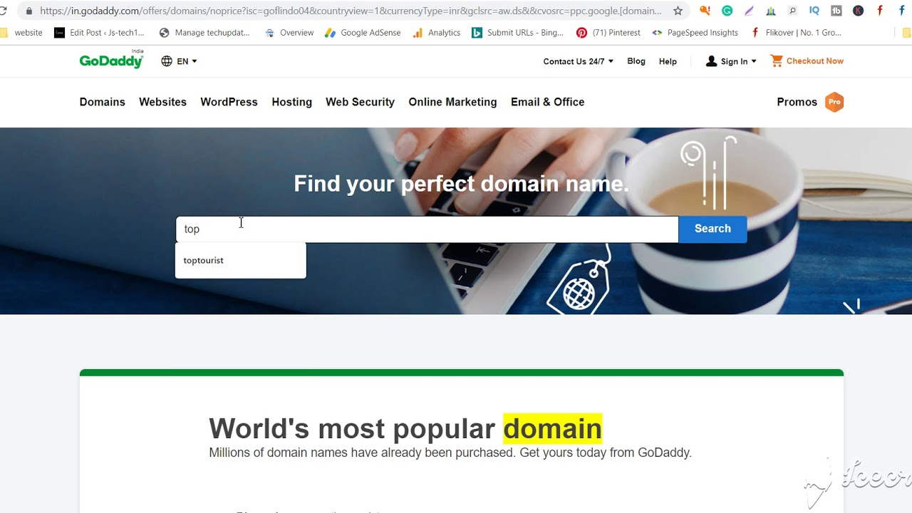 What is domain name and use of it