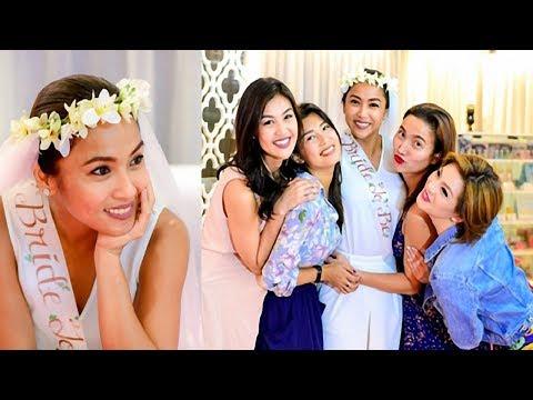 Rochelle Pangilinan surprise bridal shower!