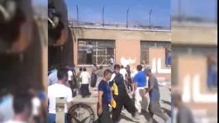 Repeat youtube video شورش در زندان قرلحصار در اعتراض به اعدام
