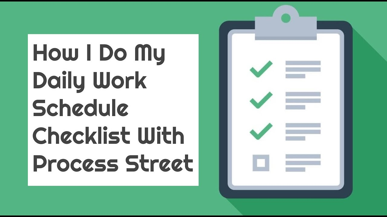 Every To Do List Template You Need The 21 Best Templates Process Street Checklist Workflow And Sop Software