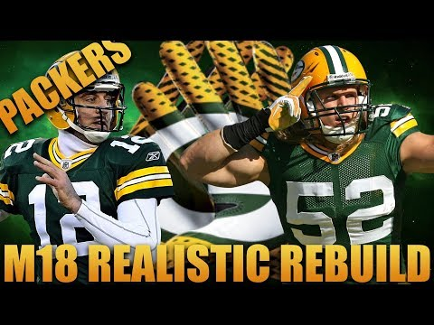 Realistically Rebuilding the Green Bay Packers |  Madden 18 Packers Greatest Rookie Corner Ever!