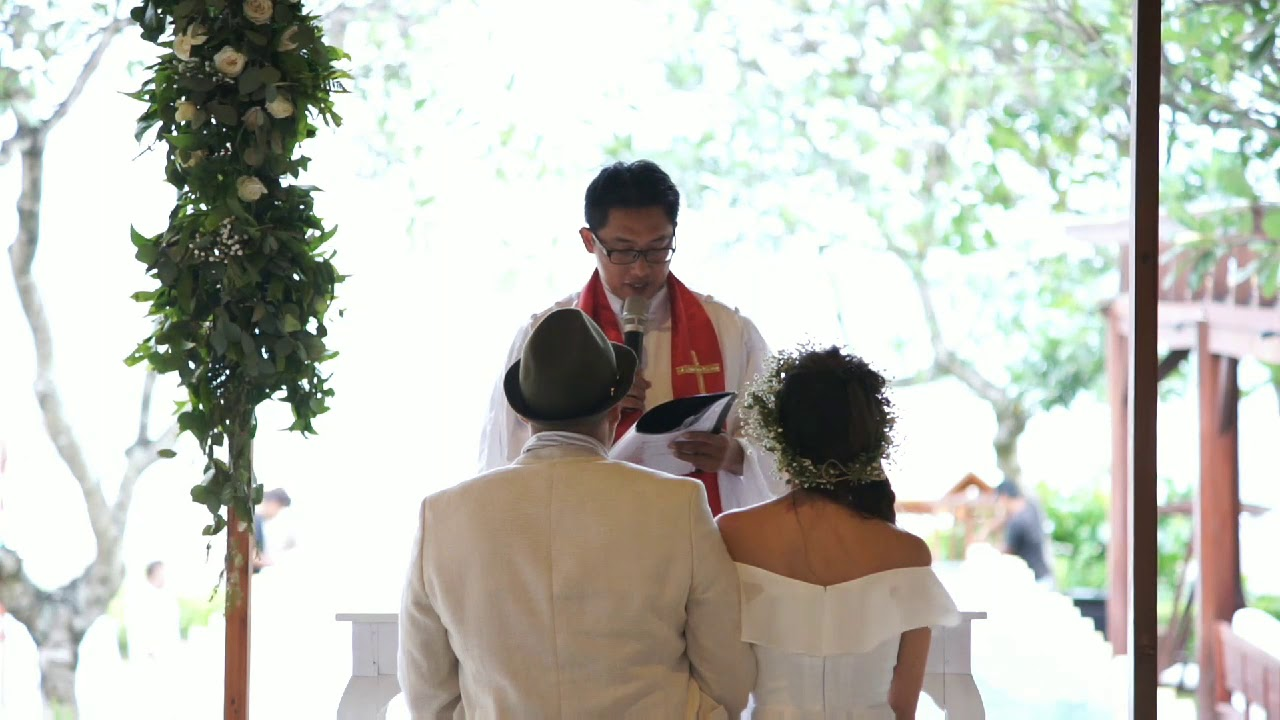 Bali religious weddings ceremony sample