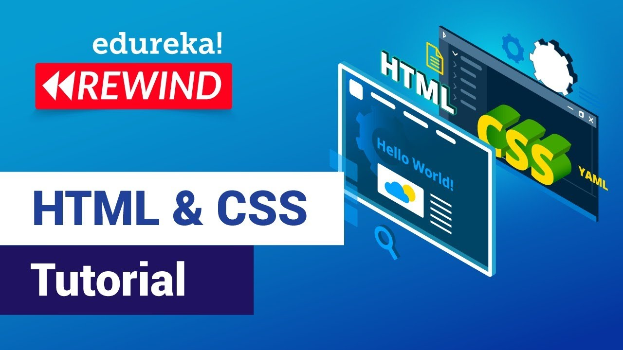 HTML & CSS Tutorial For Beginners   Web Development Training