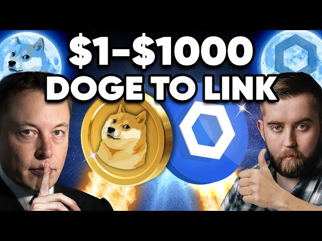 Doge $1!? Chainlink $1000!? Here's Why It Will HAPPEN!!?