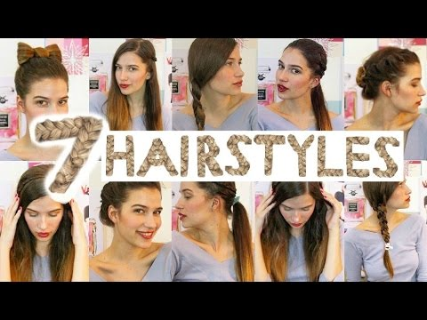 7 Easy Heatless Hairstyles For Back To School Youtube