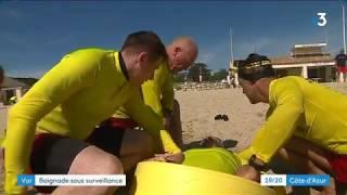 Surveillance des plages : stage de formation pour les sapeurs-pompiers saisonniers du Var