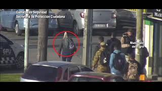 El Talar: dos pungas robaron un celular arriba de un colectivo y el COT logró interceptarlas