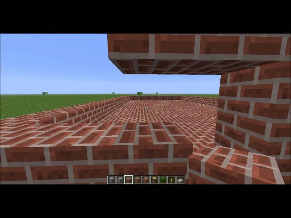 Minecraft-Comment faire un McDo 1°partie - YouTube
