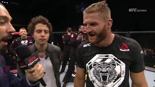 Fight Night Moscow: Jan Blachowicz Octagon Interview