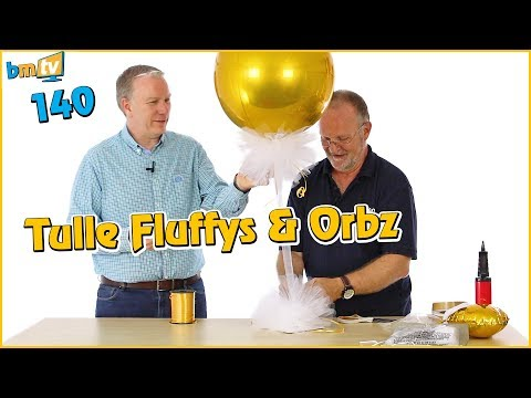 Making Tulle Fluffys & Orbz: With Chris Horne from Amscan - BMTV 140