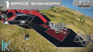 Finishing The Sky Factory Landing Pad!  - Space Engineers LP - E08