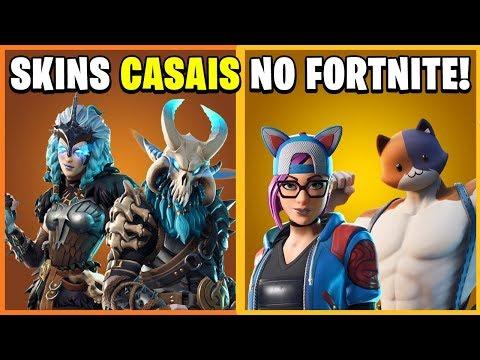 7 SKINS Que SÃO CASAIS No Fortnite! (Couple Skins In Fortnite)