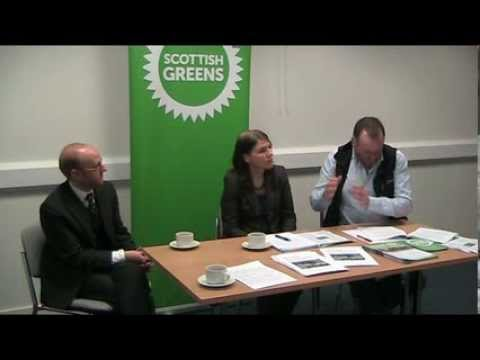 Nairn Community Centre - Scottish Green Party Launch discussion Document