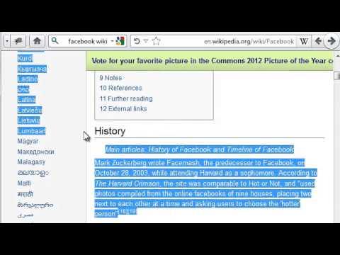 كيف تكتب مقال على الويكيبيديا wikipedia,how to write an article