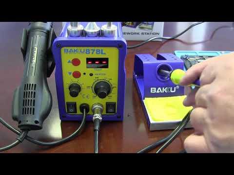 Паяльная станция BAKU BK878L Обзор/Тест