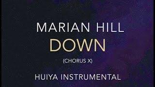 Instrumental Karaoke Marian Hill Down Chorus X