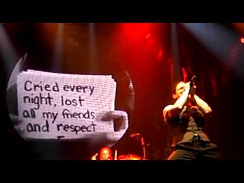 Shinedown   Bully   LIVE Nashville, TN 02 08 2013
