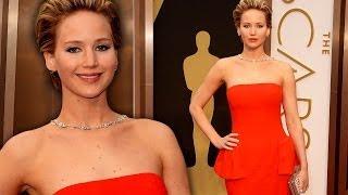 Jennifer Lawrence on the Red Carpet Oscars 2014